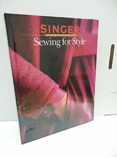 Singer Sewing Library Style Guide Book Fabrics Button Trims Tailoring Shaping