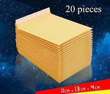 30 pieces 110x130+40mm Bubble Mailers Padded Envelopes Bags