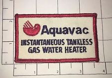 Aquavac Patch - Instantaneous Tankless Gas Water Heater