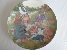 """Sigma the Tastesetter Wind in the Willows 8.5"""" Salad Plate Ariel Inc. '81"""