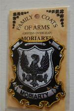 MORIARTY Family PATCH Heraldic Coat of Arms - Crest - Embroidered - Badge