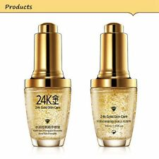 Face Skin Care Liquid 24k Gold Essence Oil Moisturizing Smooth Skin Care Makeup