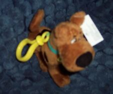 "NEW COLLECTIBLE SCOOBY-DOO 6"" PLUSH BACKPACK CLIP - CLIP-ON PLUSH SCOOBY-DOO"