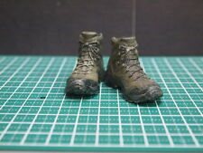 "CUSTOM 1/6 SCALE MALE SHOES/BOOTS (11) FOR 12"" ACTION FIGURE BODY TTM DAM HOTTOY"