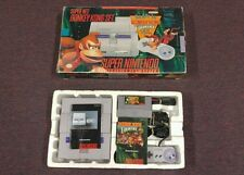 Super Nintendo Entertainment System Donkey Kong Set Bundle Console SNES