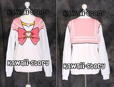 T-502 pink sailor Chibi Moon Chibiusa sweatshirt pull Cosplay Japon Harajuku