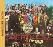 THE BEATLES SGT. PEPPER'S LONELY HEARTS CLUB BAND 50TH ANNIVERSARY 2 CD 26/5/17