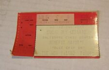 1982 An Evening With Sugar Ray Leonard Boxing Ticket Stub Baltimore Civic Center