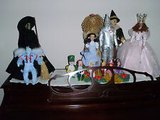 TONNER WIZARD OF OZ SET MINT CONDITION THE REAL ACTOR EDITIONS PLUS MUNCHKINS