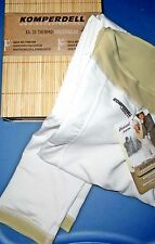 KOMPERDELL XA-10 THERMO Bamboo WHITE LEGGINGS Bottoms BASE LAYER PANTS S/M eur L