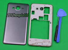 New Gray Housing Cover Case For Samsung Galaxy Grand Prime SM-G530H+Tools