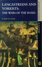 Lancastrians and Yorkists: Wars of the Roses by D. R. Cook (Paperback, 1984)