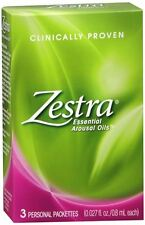 Zestra Essential Arousal Oils 3 Each (Pack of 4)