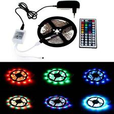 5M 3528 RGB 300 SMD Flexible tira de luces LED 44key A distancia 12V 2A