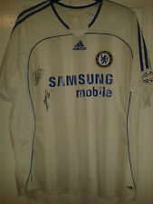 Mens Football Shirt - Chelsea FC - Adidas - Away 2006-07 - SIGNED - Size XL