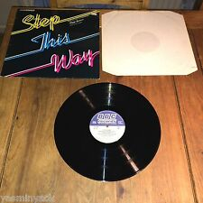 STEP THIS WAY - AN INTRODUCTION TO MODERN DANCING PEGGY SPENCER UK LP - REC 374