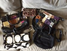 Coach Bags & Pounch - lot of 5 total