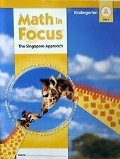 Math in Focus: Singapore Math: Student Edition, Book A Part 2 Grade K 2009