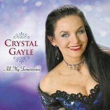 Crystal Gayle CD All My Tomorrows (Oct-2003, South Paw Records) LIKE NEW
