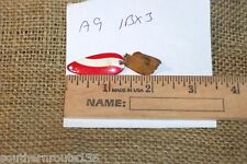 Vintage Herters Inc. Waseca Minn Red White Spinner Fishing Lure Tackle  A9 1BX3