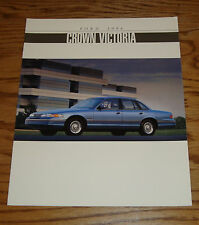 Original 1994 Ford Crown Victoria Sales Brochure 94 LX
