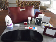 QANTAS First Class SK-II Ladies' Amenity Kit Bag Trousse Neceser Kulturbeutel