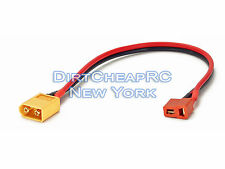 Charge Cable Adapter: Deans Female to XT60 Male XT-60 DJI Phantom Plug LiPo Lead