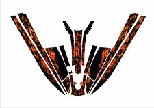 kawasaki 440 550 sx jet ski wrap graphics pwc stand up jetski decal flames 4