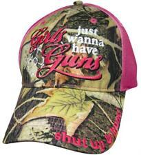 Girls Just Wanna Have Guns Cap