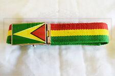 Guyana drapeau couleurs or rouge et ceinture verte caribbean pride roots & culture