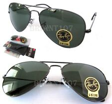 NWT Unisex Sunglasses Ray-Ban RB3025 W0879 Aviator Gun metal 58mm G-15 Lens