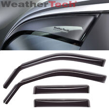 WeatherTech Side Window Deflector - Toyota Tundra Double Cab - 2007-2016 - Dark