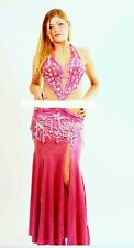 Pink Bellydance Dress Costume