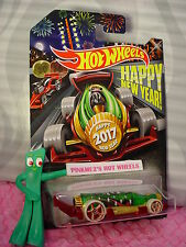 2017 HAPPY NEW YEAR! CARBONATOR ∞Green/Red Bottle opener Car ∞ Hot Wheels