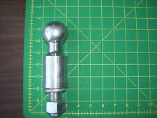 ACAR 2 inch  Trailer Ball with 2 1/2 inch rise, 1 inch shank with washer & nut.