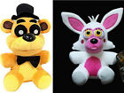 New Funko Five Nights At Freddy's Golden Freddy & Mangle Funtime Foxy Plush Toy