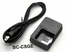 Battery Charger For Sony Cyber-shot DSC-W290 DSC-W300 DSC-W30 DSC-W35 DSC-W40