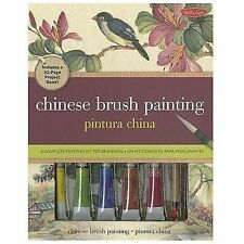 Chinese Brush Painting : A Complete Painting Kit for Beginners by Rebecca Yue...