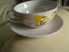Nescafe Coffee Cup and Saucer Vintage, VGC, FREE-MAILING.