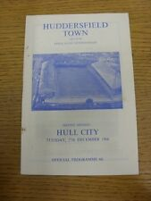 27/12/1966 Huddersfield Town v Hull City  (slight marks). Thanks for viewing thi