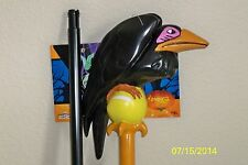 "DISNEY CLASSIC MALEFICENT 48"" STAFF WITH CROW PERCHED COSTUME PROP DG18281"