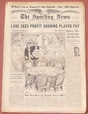 2-11-53 SPORTING NEWS WASHINGTON SENATORS EDDIE YOST INSIDE BASEBALL