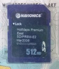 Navionics HotMaps PREMIUM EAST '06 SD/PREM-E2 SD Card 512MB Mar2006 Case GPS Map