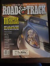 Road & Track Magazine July 2002 Audi Quattro BMW 330i CTS IS 300 C320 S60 (OO)