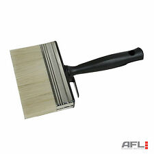 """Shed & Fence Paint Brush 5""""/125mm - Timber Wood Stain Varnish Creosote"""