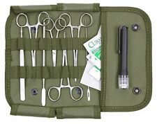 17-Piece Minor Surgery Field Kit - Rothco Military Medical Supplies Surgical Kit