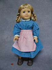 "Vtg 18"" American Girl Pleasant Company KIRSTEN DOLL & MEET OUTFIT Clothes Shoes!"