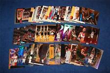 LARRY HUGHES 76ERS WIZARDS 73 CARDS WITH 14 RC'S AND 17 INSERTS (WJ315)