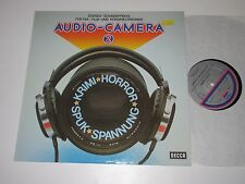 LP/STEREO SOUNDEFFEKTE/AUDIO CAMERA 2/KRIMI HORROR/SPUK/SPANNUNG/Decca 6.22011