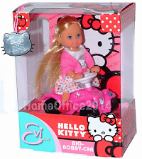 Hello Kitty Mini Doll on a Car Big Bobby Car Toy New